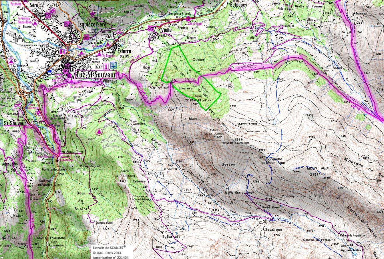 9 4bis entre luz et barrege excursiones pirineos franceses